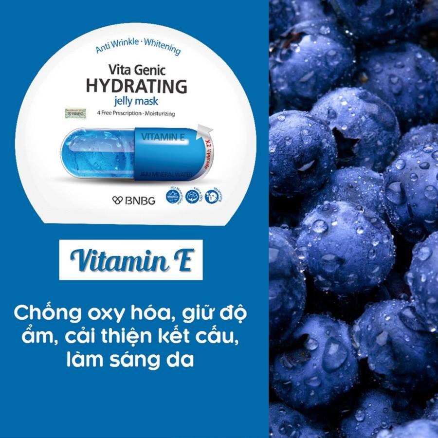 Combo 10 Mặt Nạ BNBG Hydrating Vita Genic Jelly Mask Dưỡng Ẩm Da Đa Tầng 30mlx10