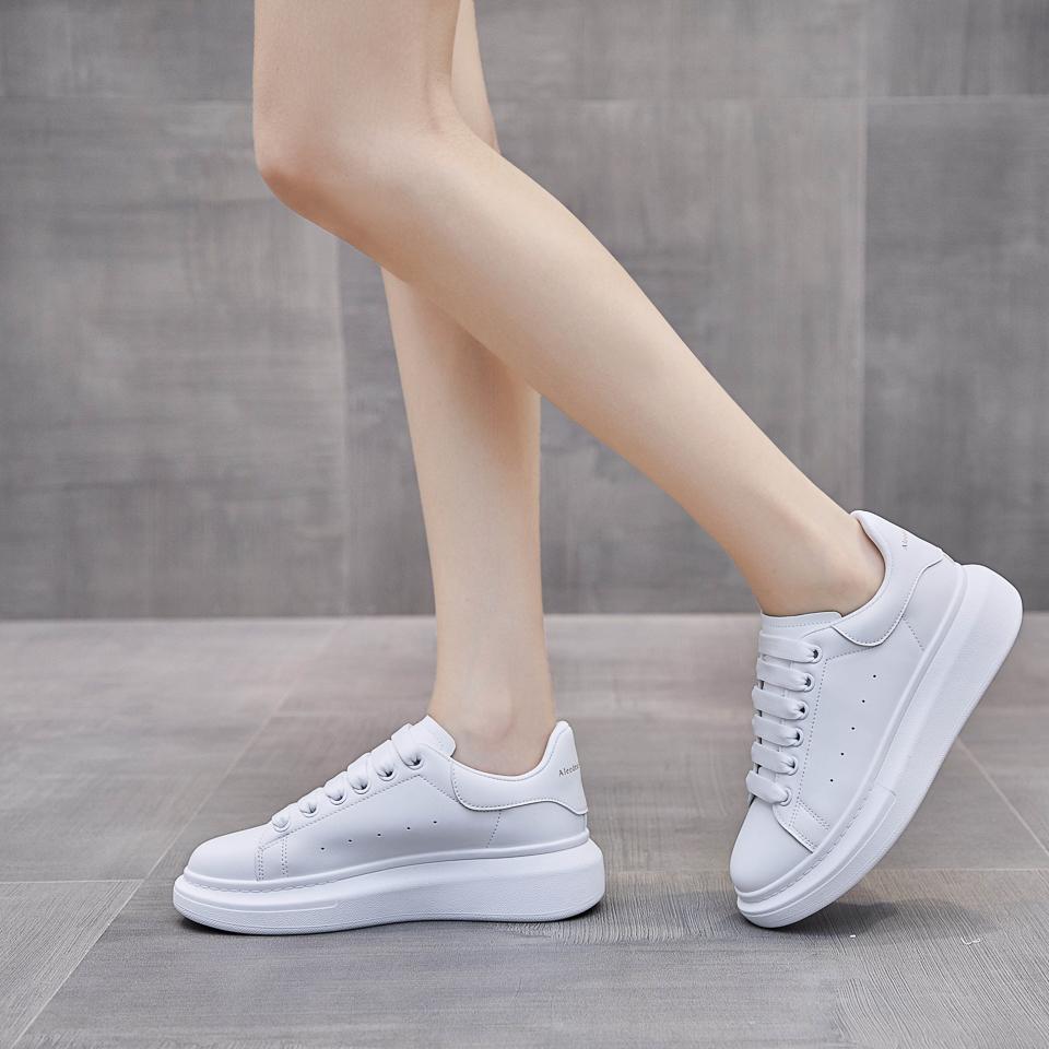 Giày Thể Thao Sneaker Domba Cặp Đôi Nam Nữ Độn Đế MINSU M3006 Giày Bata Hàn Quốc Đế Độn Tăng Chiều Cao 5cm Đi Chơi, Đi Học