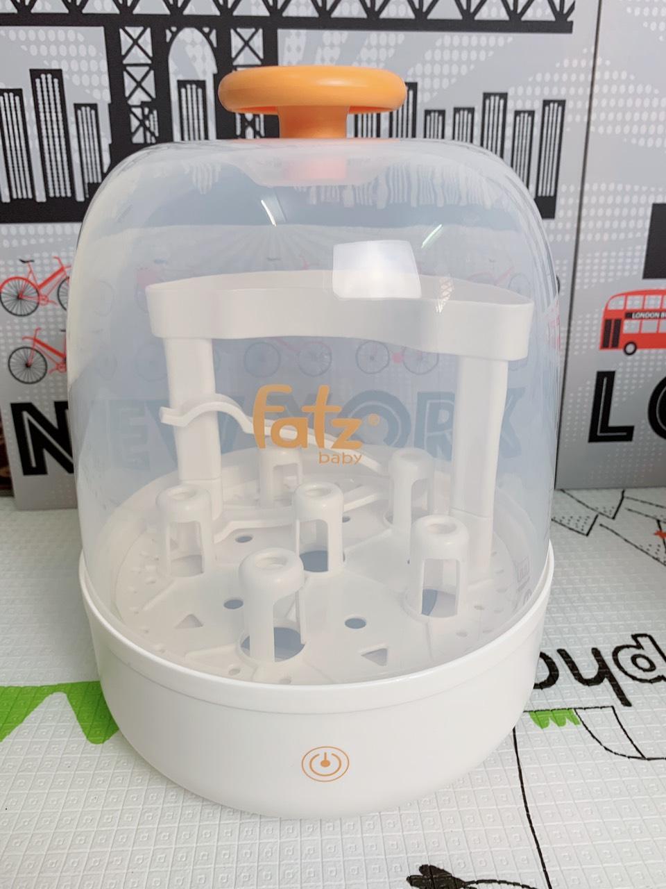 Máy tiệt trùng bình sữa hơi nước điện tử Fatz FB4036SL - CHÍNH HÃNG / TẶNG KHẨU TRANG CHO BÉ