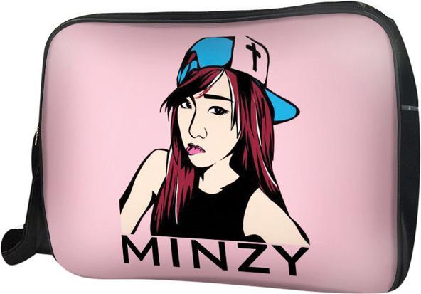 Túi Đeo Chéo Hộp Unisex Minzy - TCKC103 34 x 9 x 25 cm