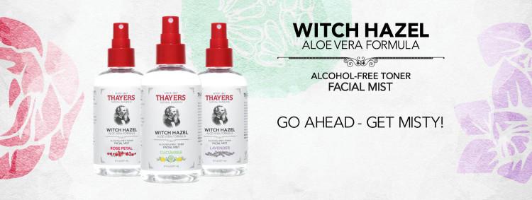Xịt Khoáng Không Cồn THAYERS Alcohol-Free Cucumber Witch Hazel Toner Facial Mist 237ml 1