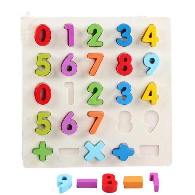 Bảng số nổi 0-9  BA82