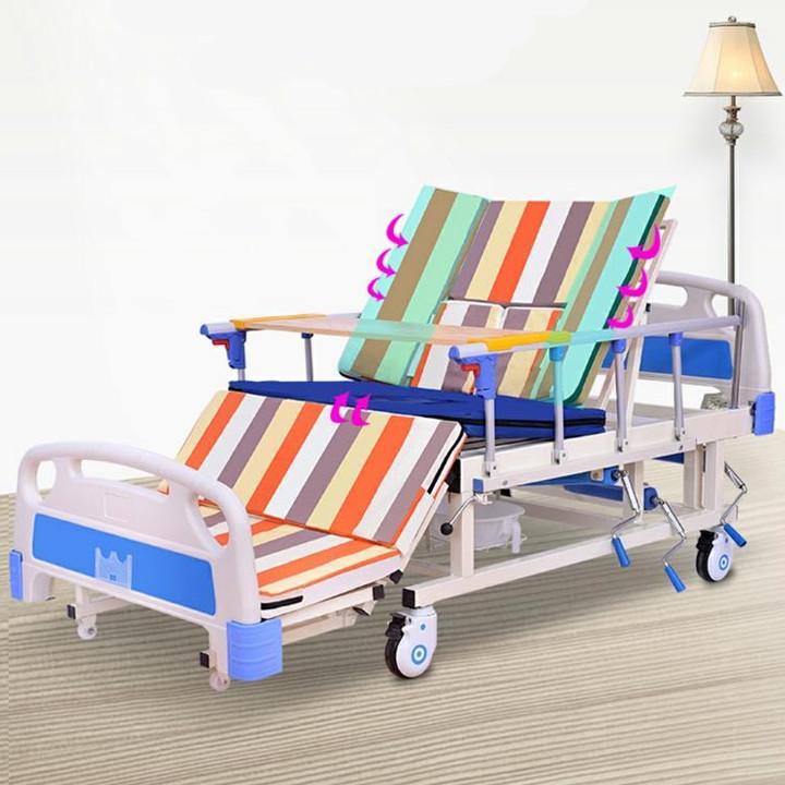Giường Bệnh Nhân 4 Tay Quay Đa Năng