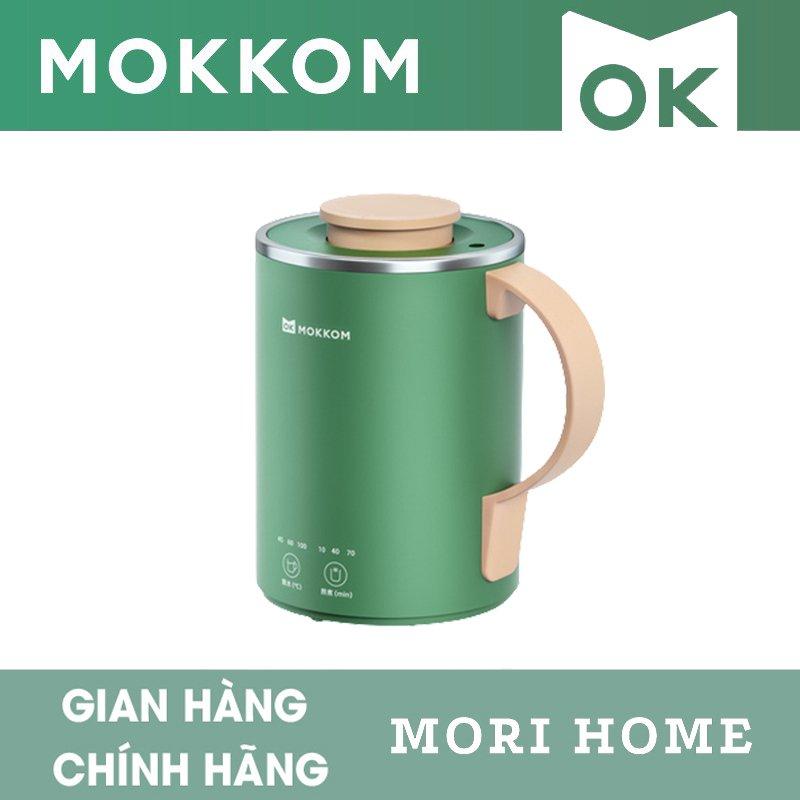 Cốc Điện Đa Năng Mokkom Mini 350ml - Có Lõi Lọc Trà - Hàng Chính Hãng