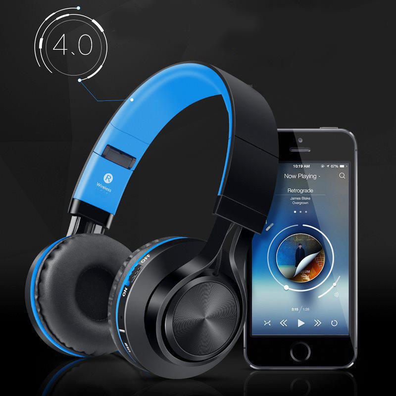 Tai nghe không dây, Tai nghe Bluetooth chụp tai FE012 (hộp to) - Âm thanh rõ ràng chân thực. ( Giao màu ngẫu nhiên)