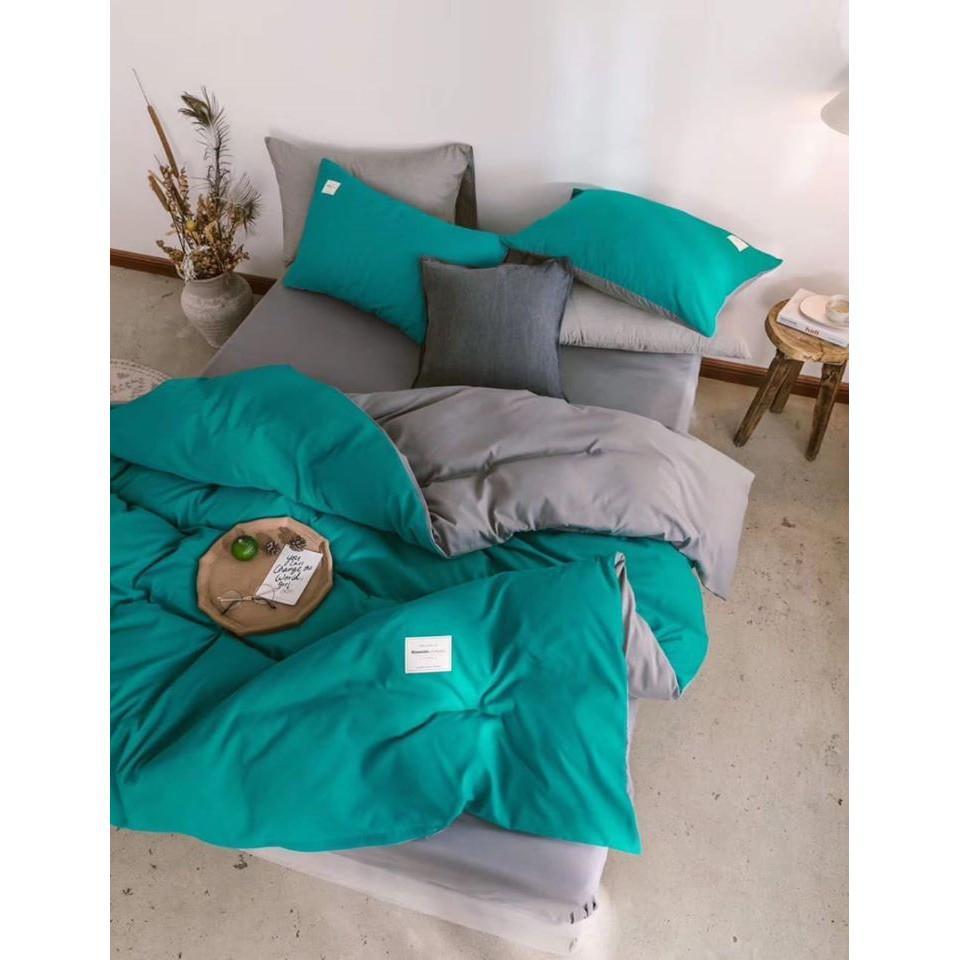 Bộ chăn ga 4 món cotton Tici cao cấp đủ size nhiều mẫu (không kèm ruột) TCA24