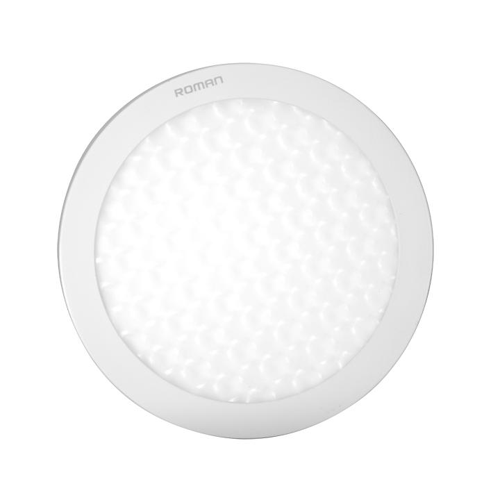 Đèn ốp trần LED Panel siêu mỏng ELT8004S Roman - Đặc biệt với thiết kế 3D, viền nhôm siêu mỏng