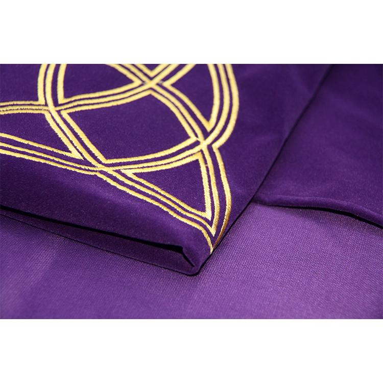Khăn Trải Bài Tarot Triquetra Wicaa Velvet Tarot Cloth Cao Cấp