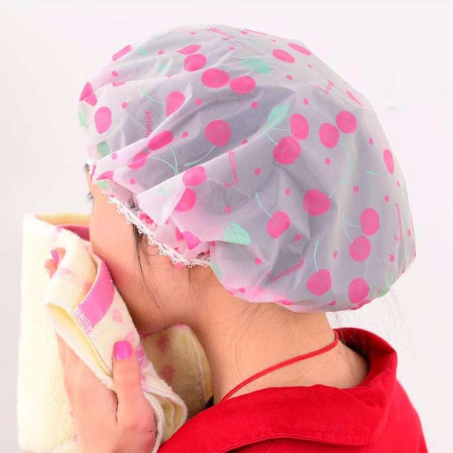 Mũ Trùm Đầu Khi Tắm