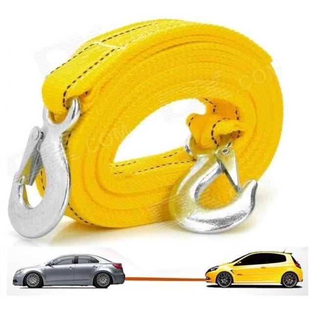 Dây cáp dù chuyên dụng kéo cứu hộ xe ô tô 3 mét - Cáp cứu hộ chịu tải 4 tấn