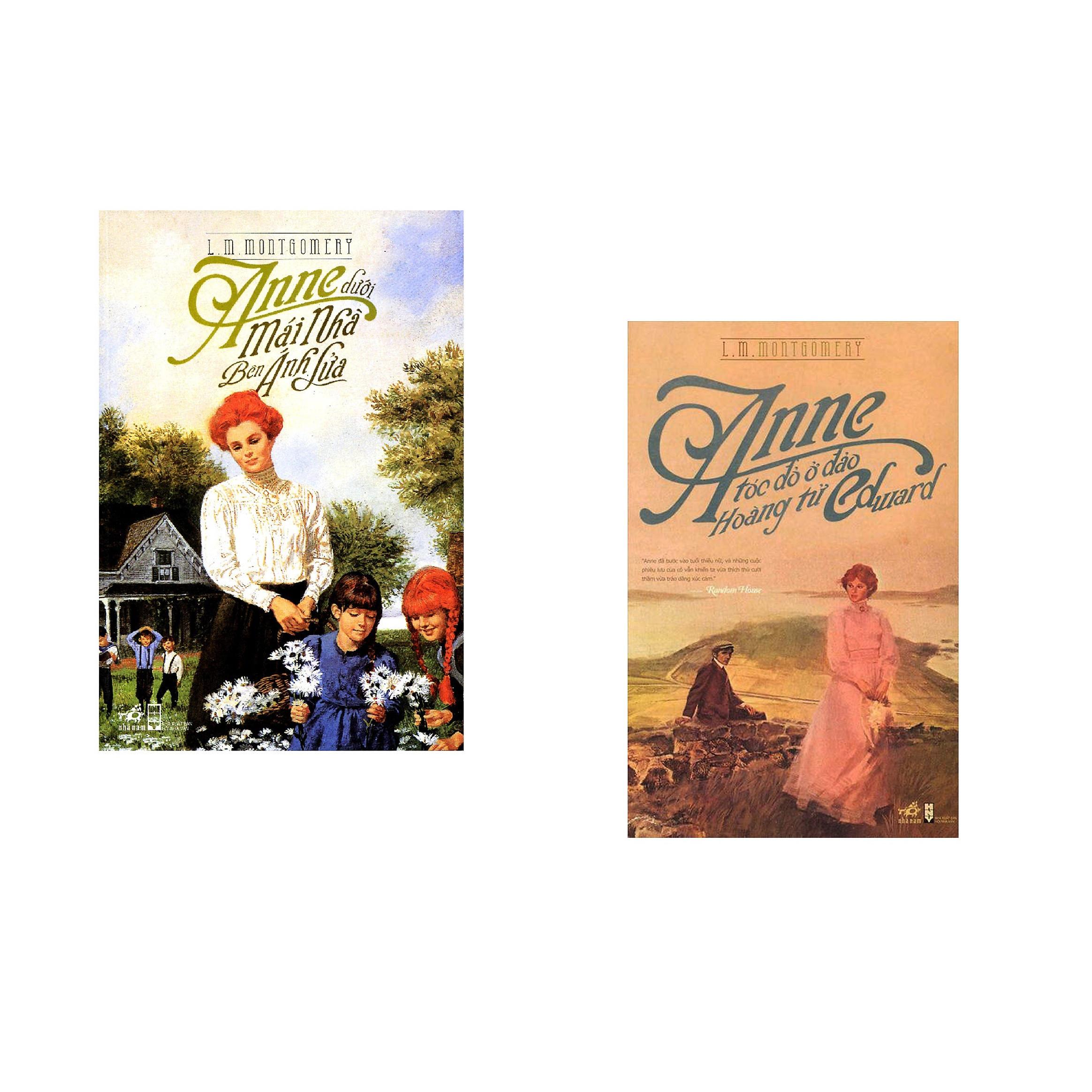 Combo 2 cuốn sách: Anne Dưới Mái Nhà Bên Ánh Lửa + Anne Tóc Đỏ Ở Đảo Hoàng Tử Edward