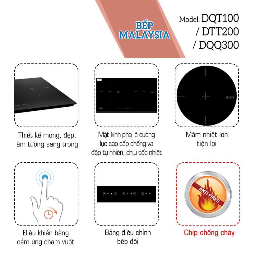 Bếp Điện Đôi Cao Cấp Osaka DQT100/DTT200/DQQ300 (4000W) - Hàng Chính Hãng