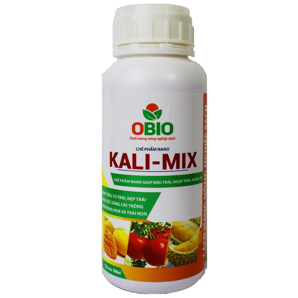 Chế Phẩm Sinh Học Nano Kali-Mix Tăng Khả Năng Ra Hoa Giúp Trái To Đều, Hạn Chế Tình Trạng Nứt, Rụng Quả Chai 500ml