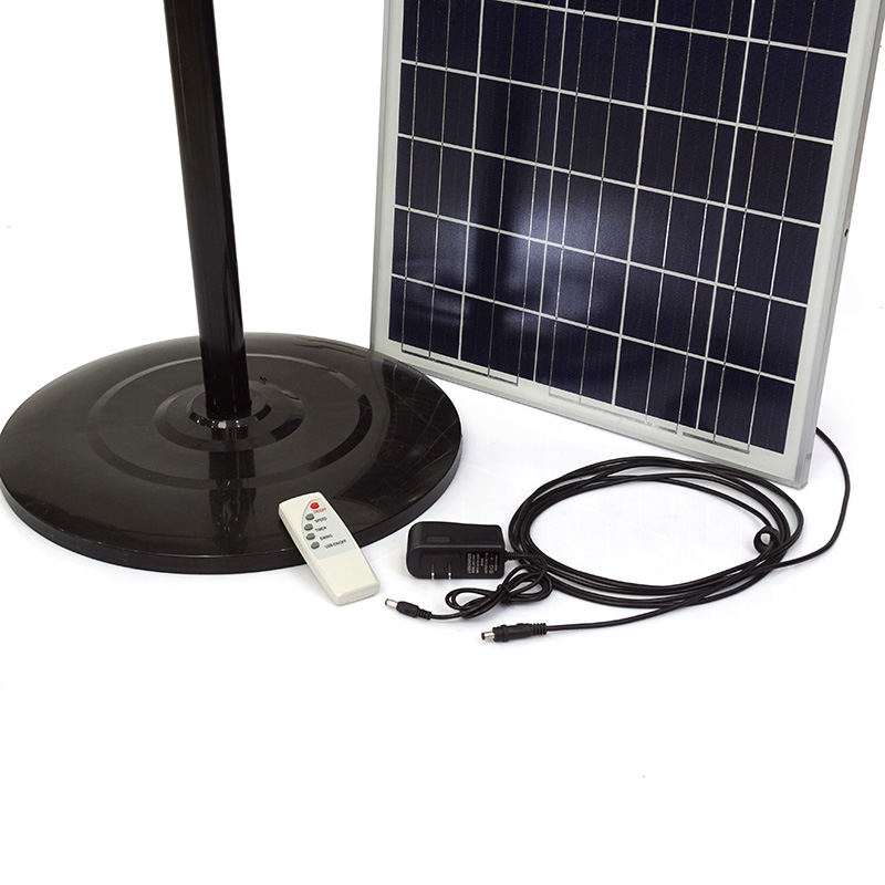 Quạt cây tích điện 2 trong 1 SUNTEK S68  sạc bằng năng lượng mặt trời - Hàng chính hãng