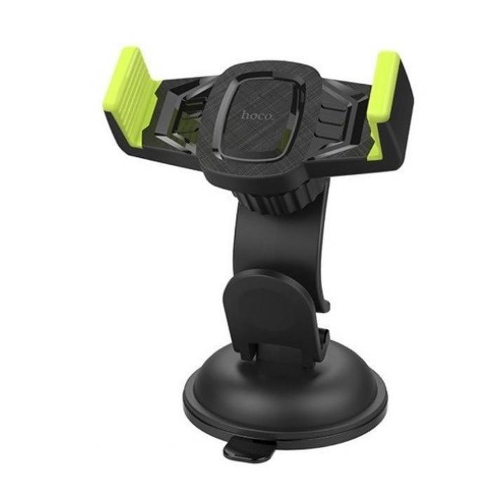 Giá đỡ điện thoại trên taplo ô tô, xe hơi nhãn hiệu Hoco CA40, Khả năng tương thích rộng, an toàn chắc chắn với bảng điều khiển xe hoặc kính chắn gió