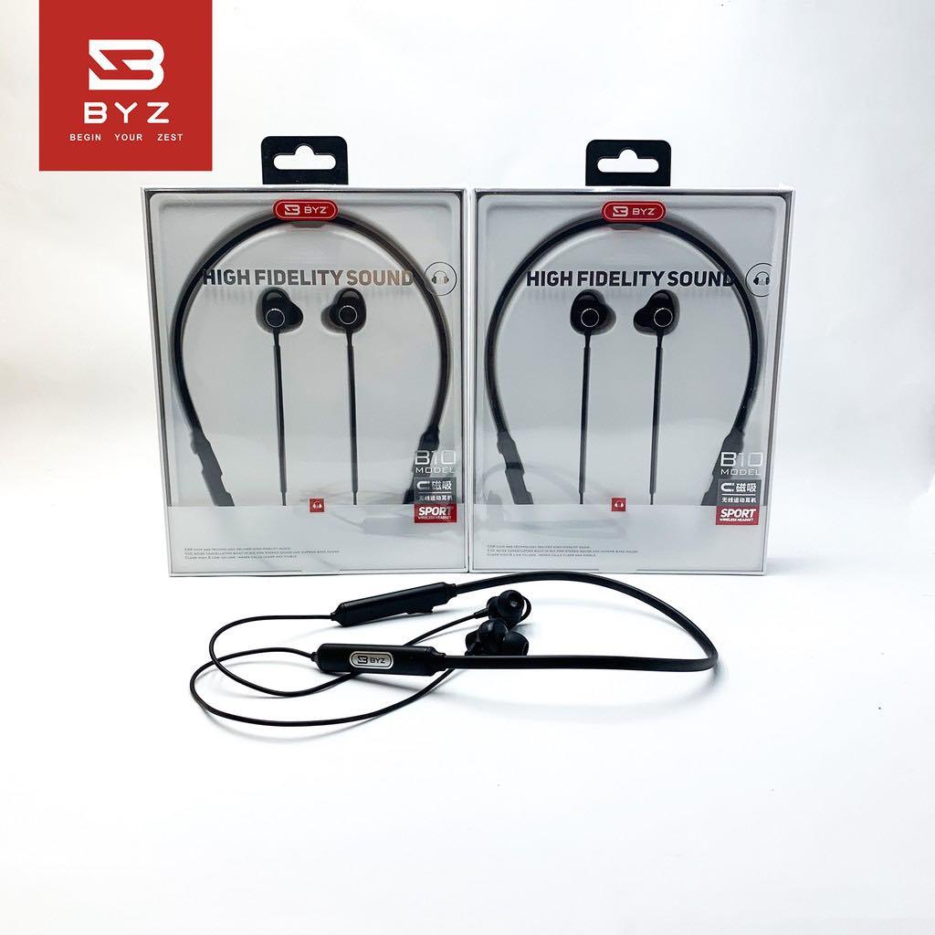 Tai Nghe Bluetooth Choàng Cổ Thể Thao BYZ B10 -Hàng Nhập Khẩu