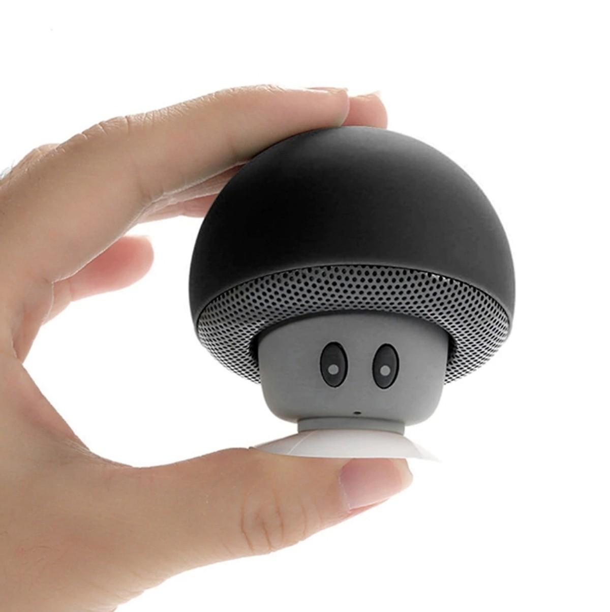 Combo Loa Bluetooth  Mini Hình Nấm Siêu Dễ Thương + Tặng Tai Nghe Bluetooth Y-12 Kiểu Dáng Thể Thao Cao Cấp