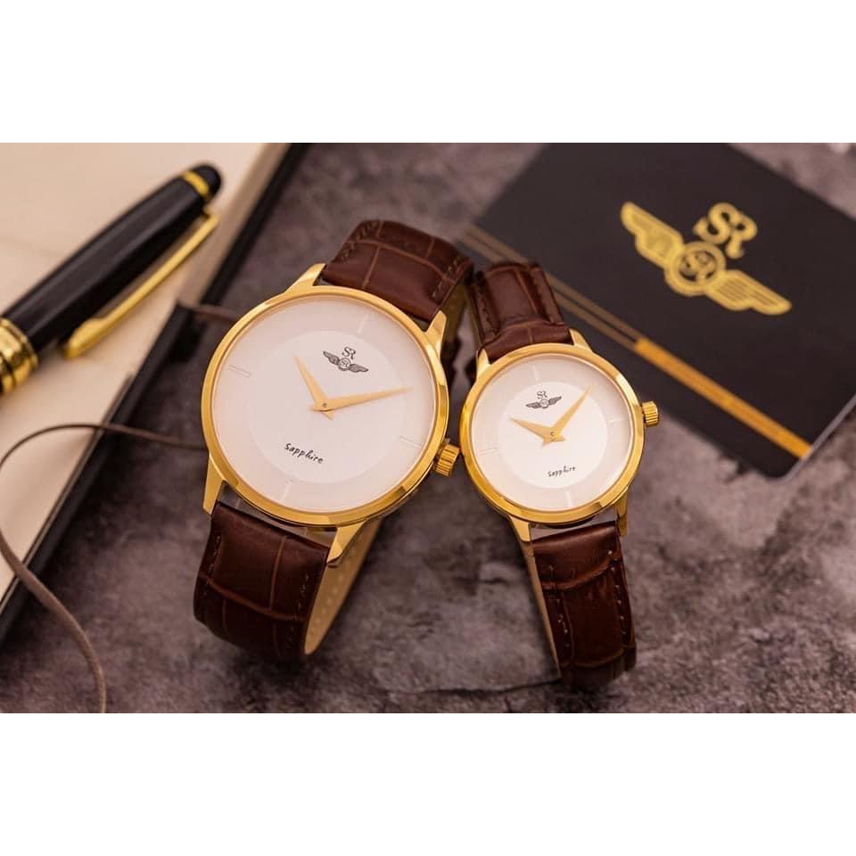 Đồng hồ Cặp Dây Da SRWATCH SG3004.4602CV-SL3004.4602CV