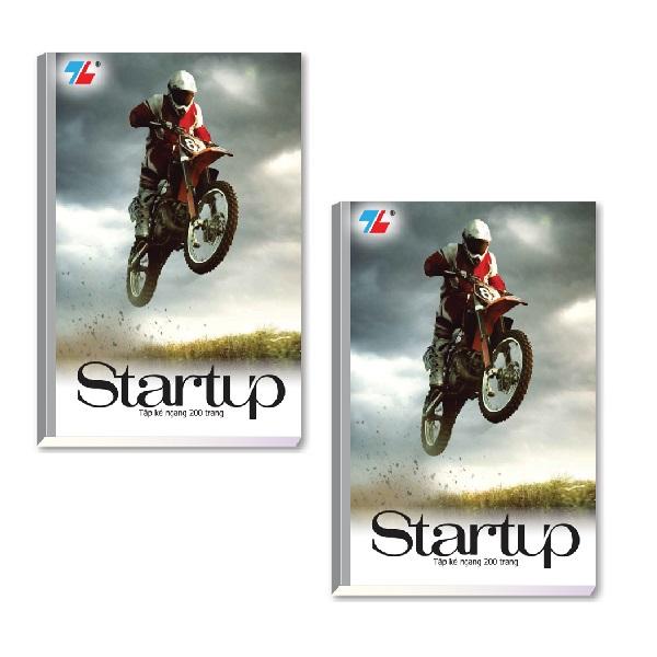 Bộ 2 Tập học sinh 200 trang Thiên Long NB-088 (hình ngẫu nhiên)