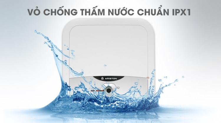 Vỏ chống thấm nước IPX1 - Bình nóng lạnh Ariston AN2 RS 30 lít
