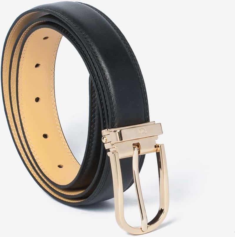 Thắt Lưng Nam Da Bò Cao Cấp Màu Đen WT Leather 1390.2