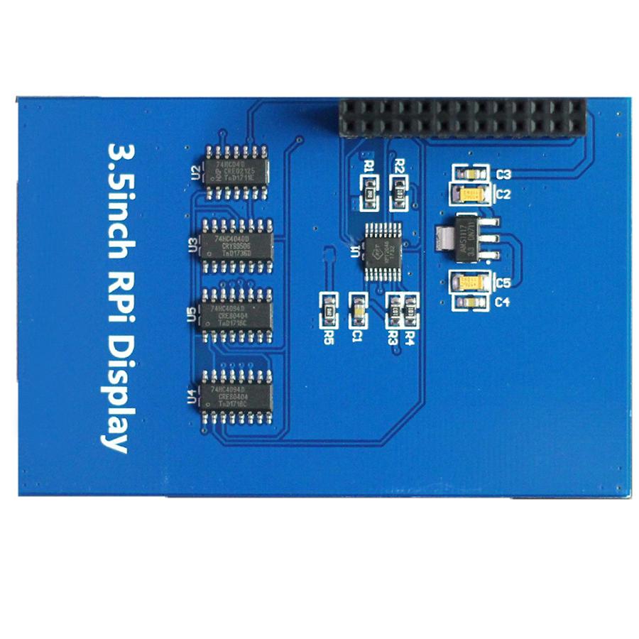 Module Màn Hình 3.5Inch 480x320 Cảm Ứng Điện Trở Dùng Cho Máy Tính Raspberry