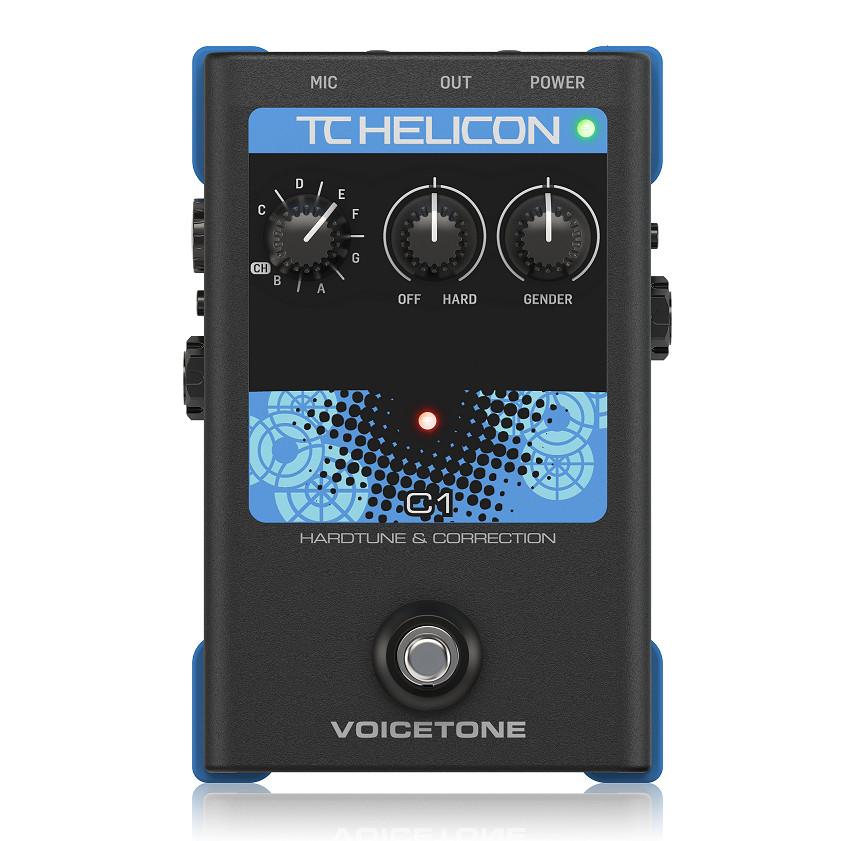 TC-Helicon VoiceTone C1 Hardtune and Pitch Correction Pedal-Hàng Chính Hãng