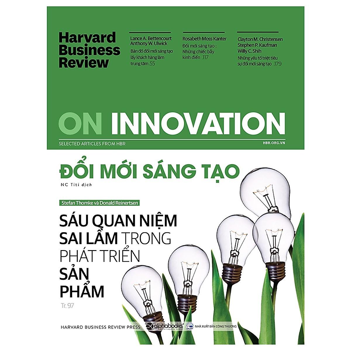 HBR On Innovation - Đổi Mới Sáng Tạo - Tặng Kèm Sổ Tay