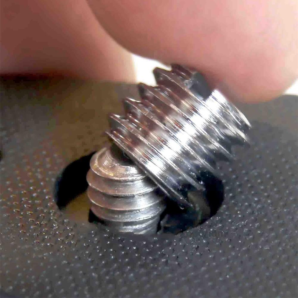 Ốc chuyển đổi vít từ 1/4 sang 3/8 inch cho chân máy ảnh