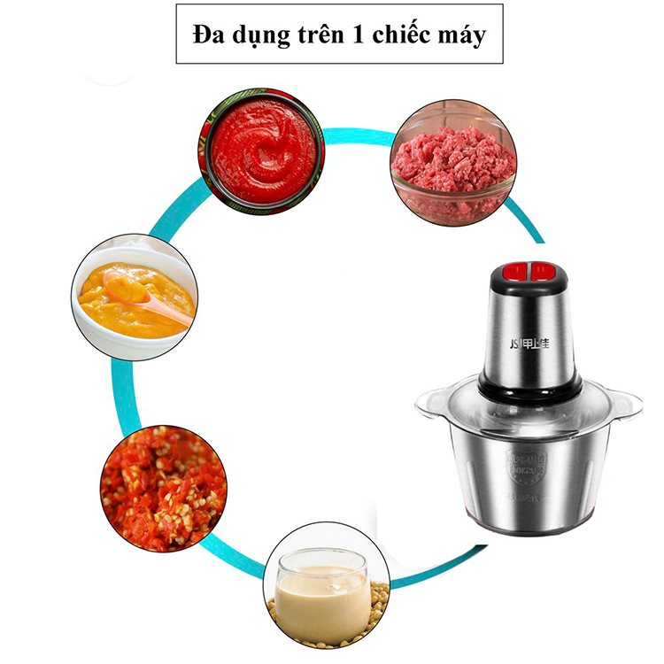 Máy xay thịt gia đình-sản phẩm tốt cho nội trợ (Tặng kèm 1 Dao thái chặt Inox siêu tiện dụng)