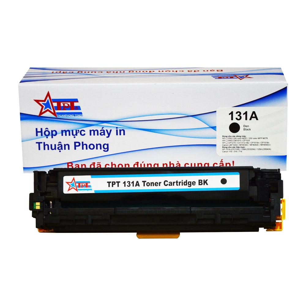 Hộp mực Thuận Phong 131A dùng cho máy in màu HP LJ M251/ 276/ CP1215/ 1515/ 1525/ Canon LBP 5050/ 7100C/ 7110C - Hàng Chính Hãng