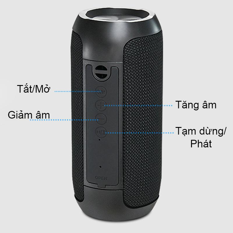 Loa Nghe Nhạc Bluetooth Kết Nối Nhanh Chóng Âm Thanh Sắc Nét Nhẹ Gọn Dễ Dàng Mang Đi PKCB - Hàng Chính Hãng