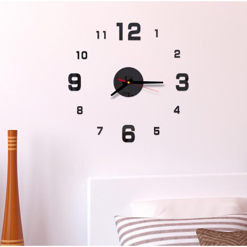 Đồng hồ treo tường kim trôi 3D tự lắp ráp DH87