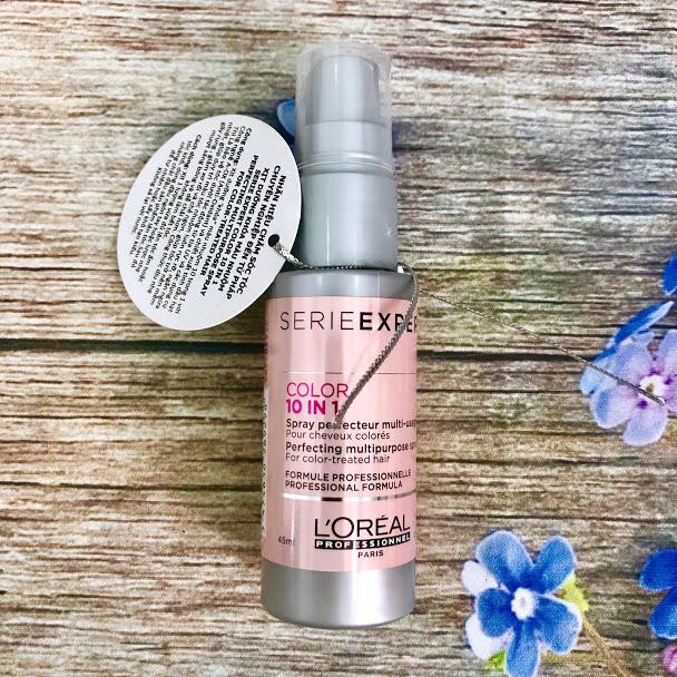 Xịt dưỡng khóa màu nhuộm L'Oréal Color 10 in 1 Spray 45ml