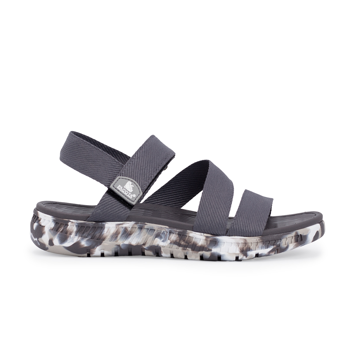 Giày sandal nam Facota V1 Sport HA15 sandal quai chéo camo - sandal quai dù