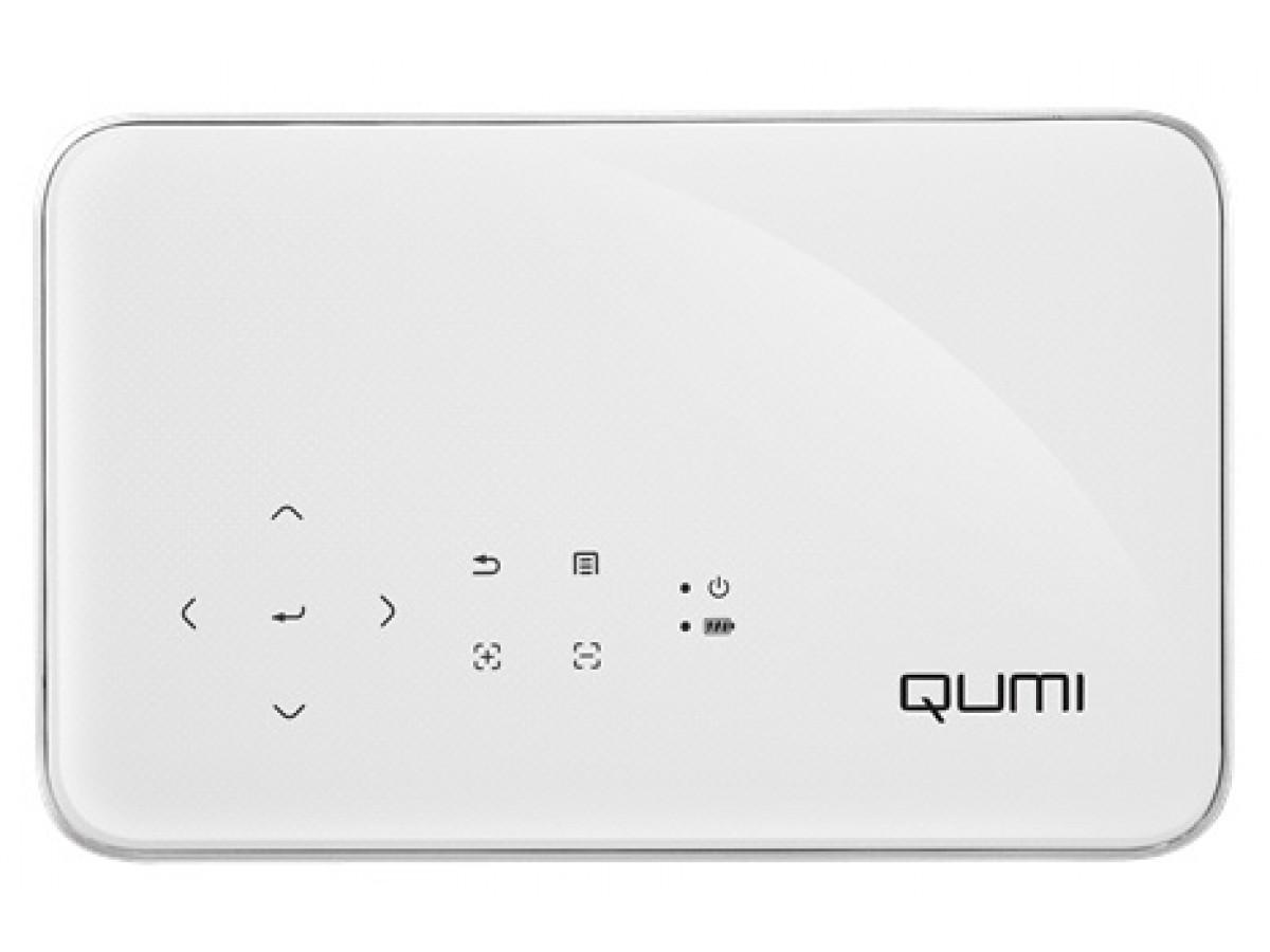 Máy chiếu mini Vivitek Qumi Q38 (Trắng) - Hàng Chính Hãng