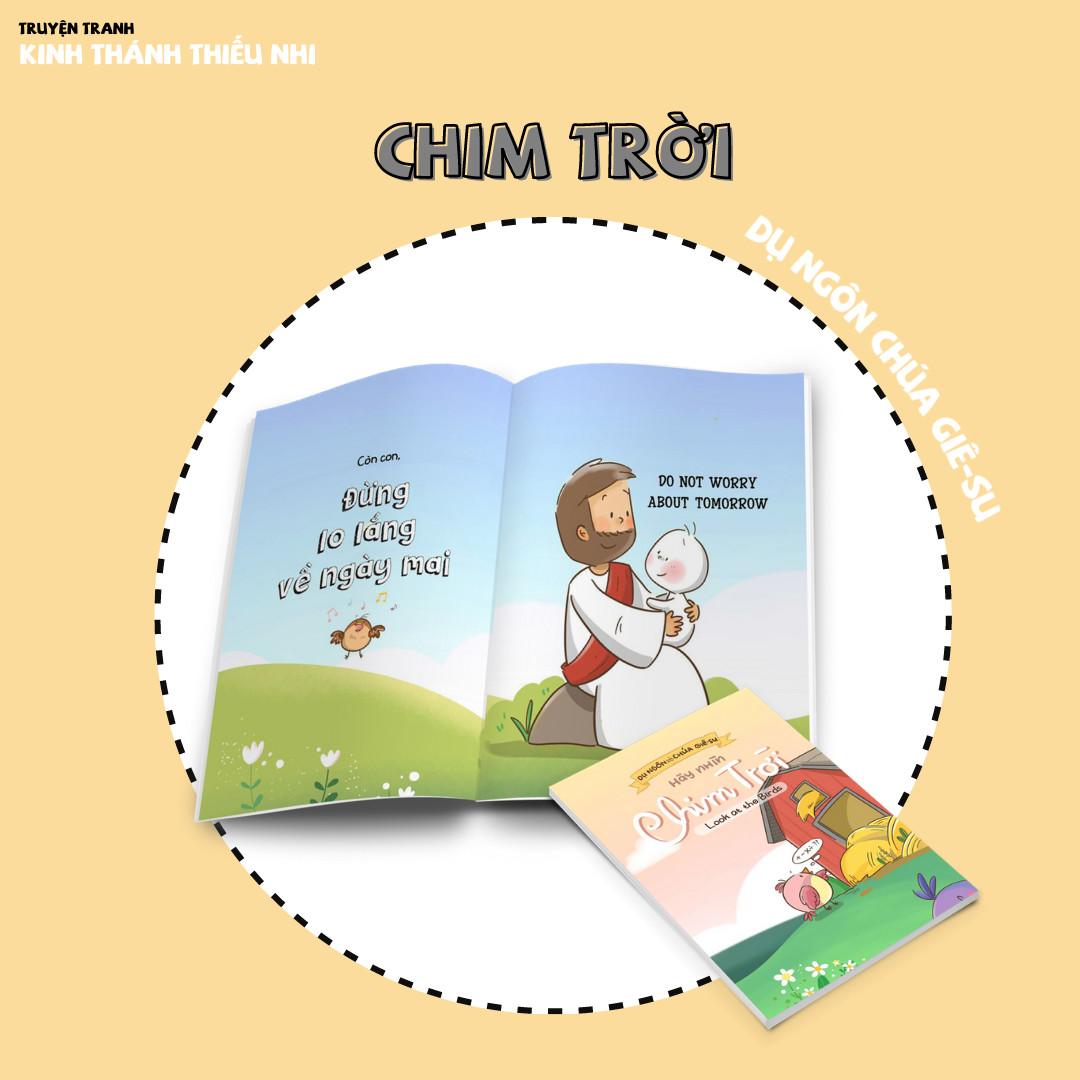 Combo Những Yến Bạc (song ngữ) - Truyện Tranh Kinh Thánh Thiếu Nhi