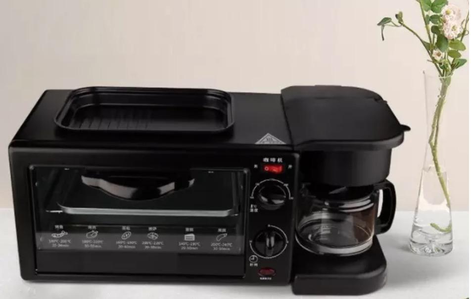 Máy Nướng Breakfast Maker 3in1