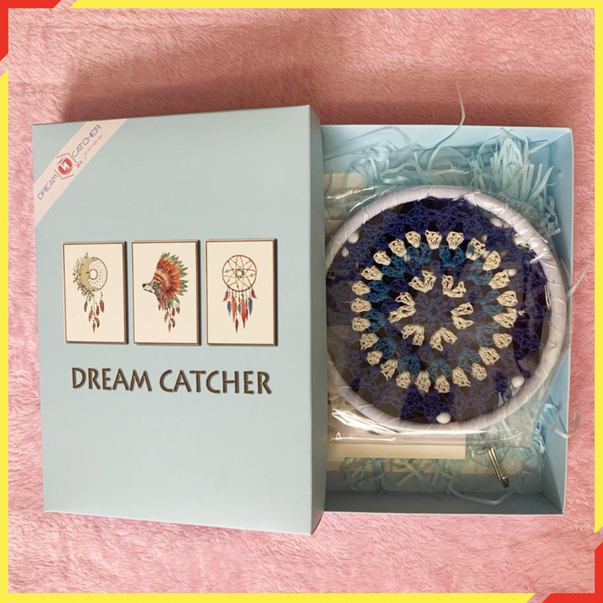 Lưới Giữ Giấc Mơ - HT SYS Dream Catcher - Vật Phẩm Trang Trí Phòng Ngủ, Phòng Khách - Đem đến những điều may mắn, tốt đẹp, giấc mơ ngọt ngào
