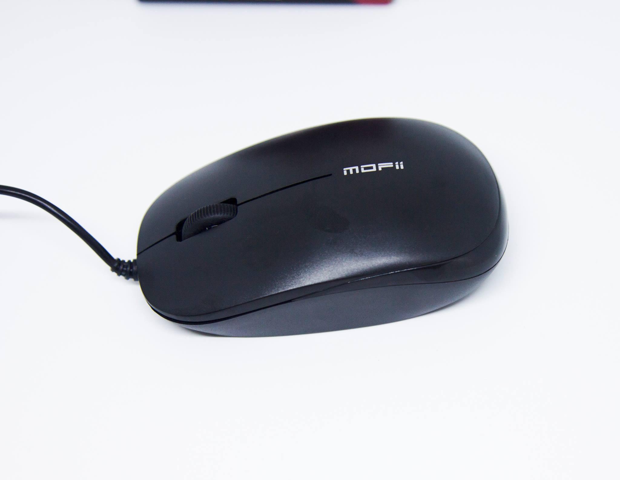 Chuột có dây văn phòng Mofii L38S - Hàng chính hãng