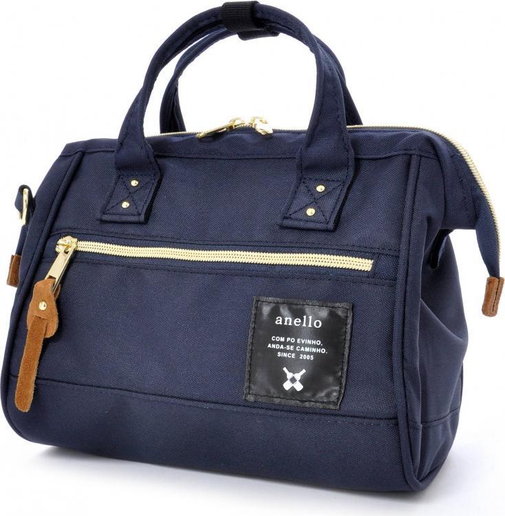 Túi đeo chéo ANELLO đeo 2 kiểu cỡ nhỏ AT-H0851 - Màu Xanh Navy