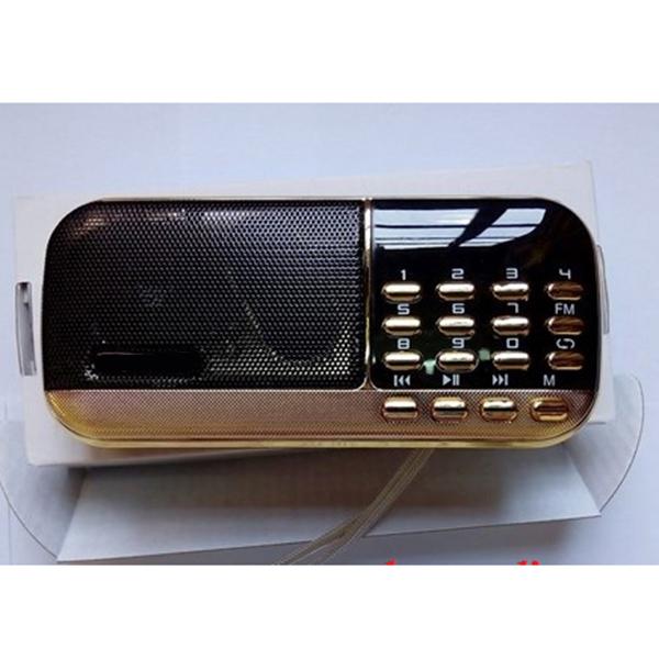 Máy nghe nhạc thẻ nhớ. USB, đài FM CR-836