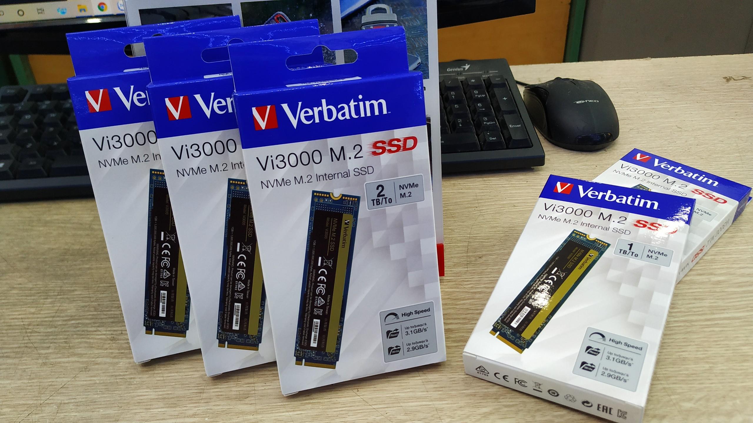 Ổ cứng Verbatim SSD NVMe M.2 2TB (Vi3000)- Hàng chính hãng