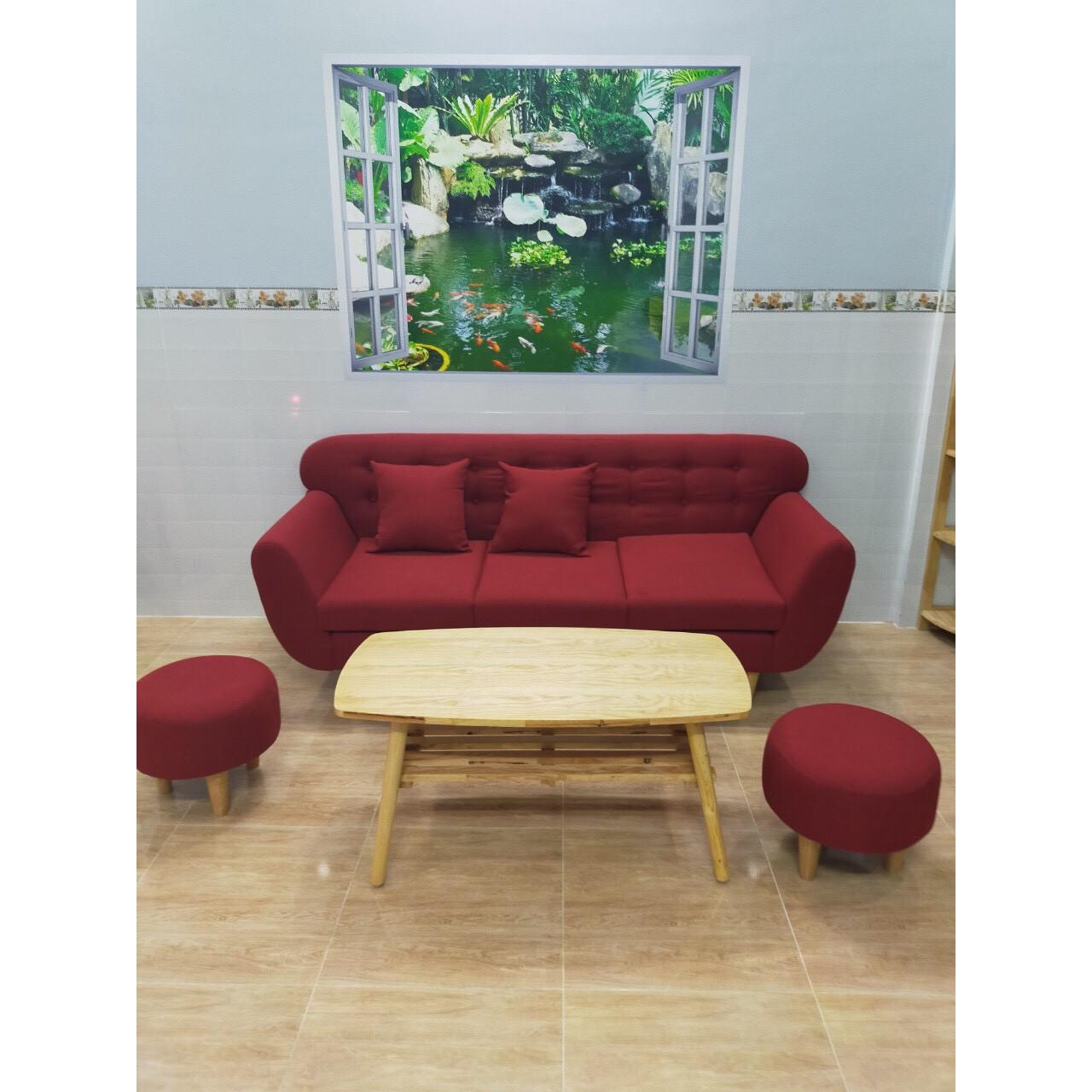 Bọ ghế sofa băng 1m9 phòng khách sopha linco salon