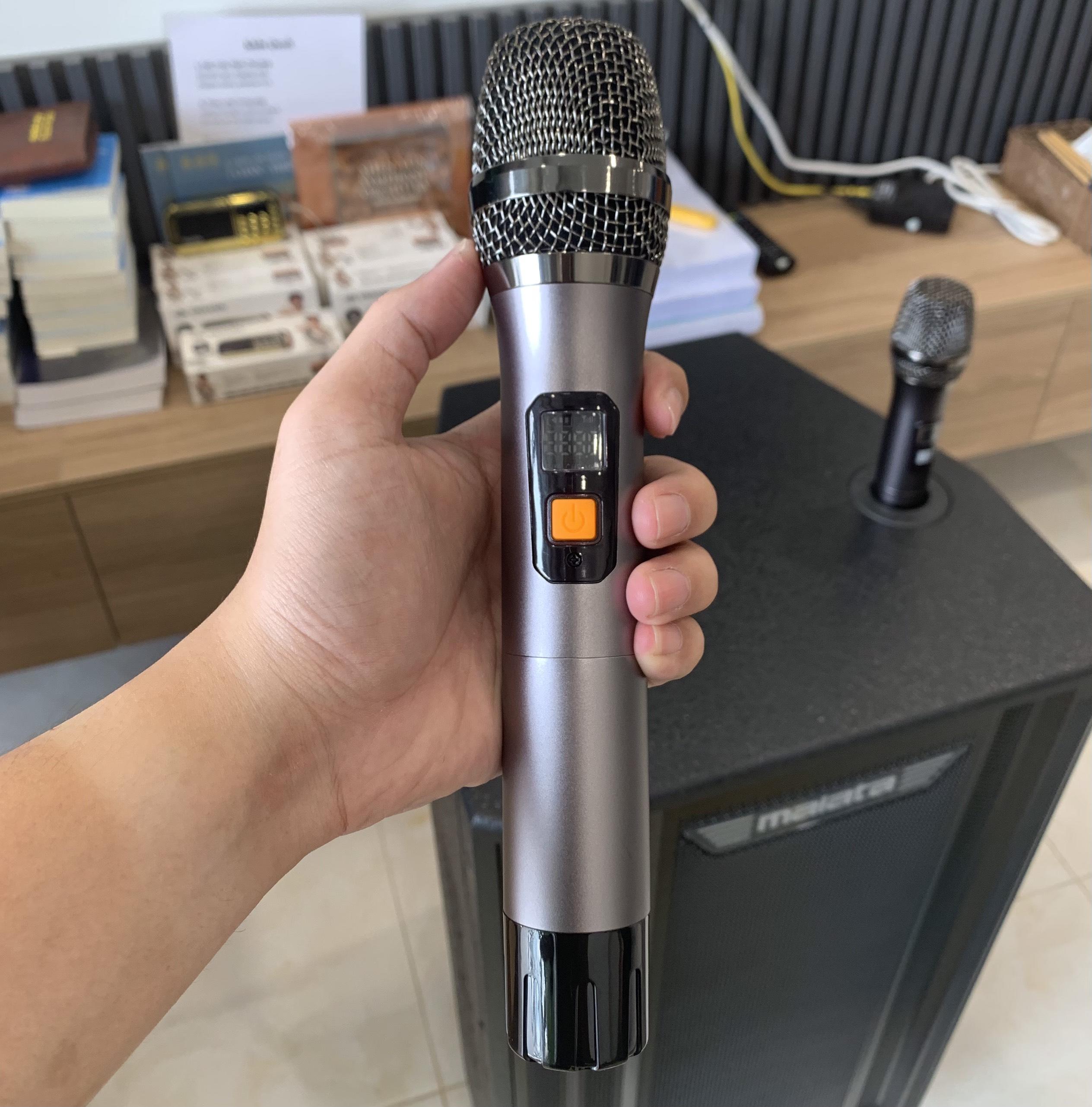 Loa Kéo Karaoke Malata 9041 PY ( Mẫu mới nhất 2020 Tặng kèm 2 Micro Nhôm Đúc ) - Hàng chính hãng MALATA