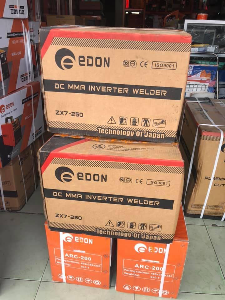 MÁY HÀN QUE ĐIỆN TỬ EDON ZX7-250 (DC) - HÀNG CHÍNH HÃNG