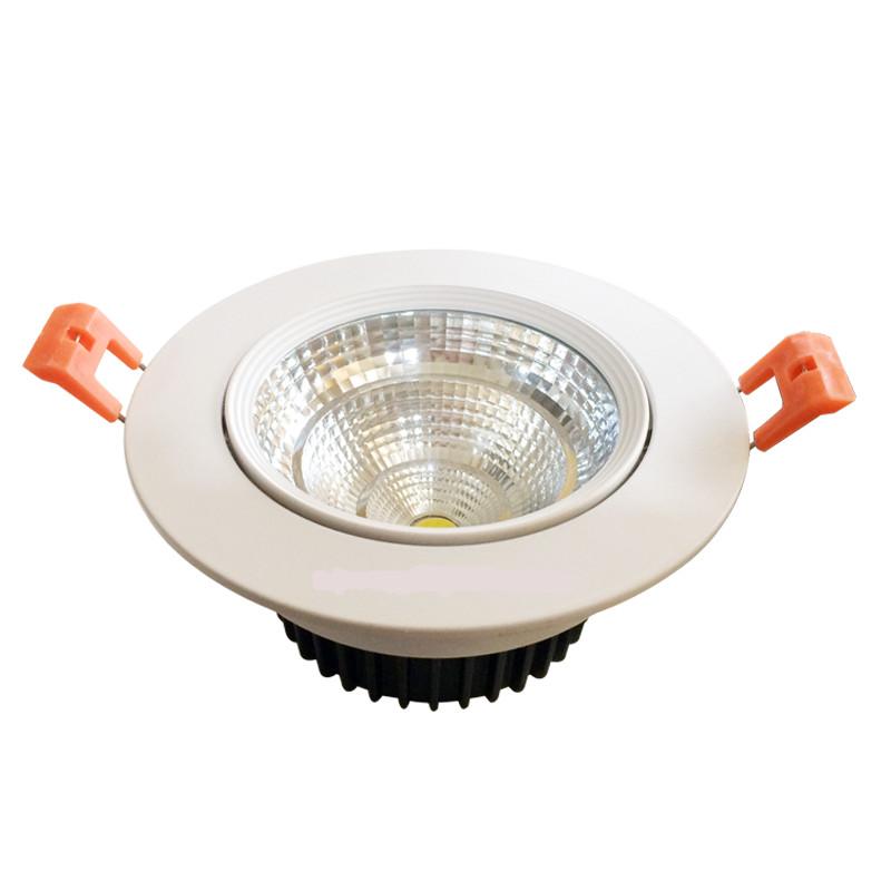 Đèn LED Âm Trần COB Công Suất 8W GSATX08 GS Lighting Ánh sáng trắng