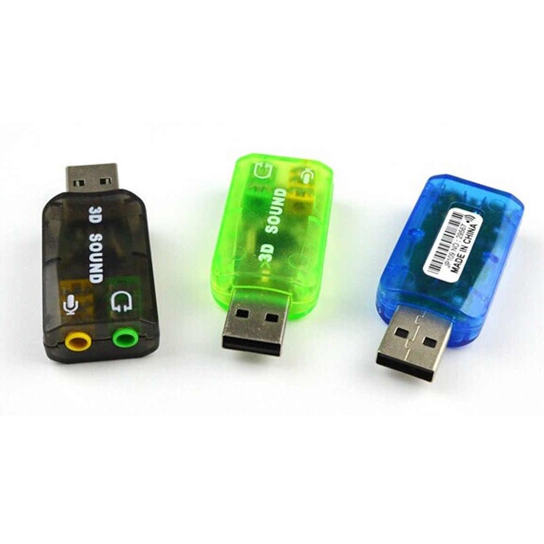 USB Sound 5.1 - Cắm Chân USB Cho Laptop PC