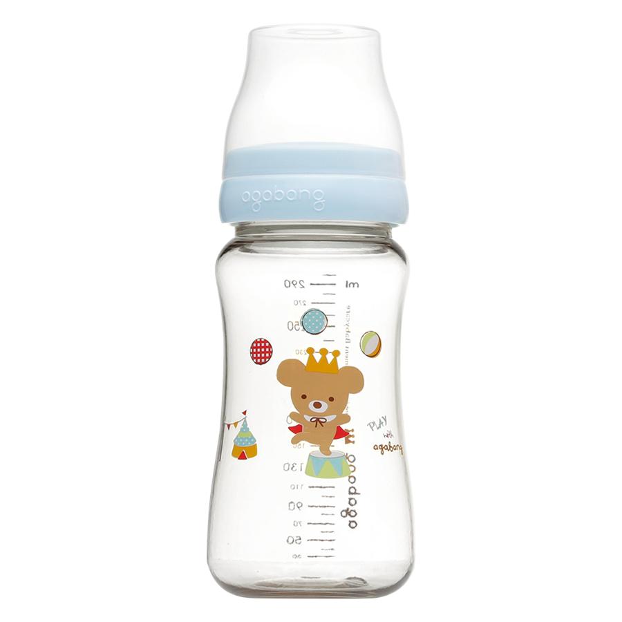 Bình Sữa Circus Bear Baby Bottle Agabang (300ml) - 5686376026896,62_1456597,240000,tiki.vn,Binh-Sua-Circus-Bear-Baby-Bottle-Agabang-300ml-62_1456597,Bình Sữa Circus Bear Baby Bottle Agabang (300ml)