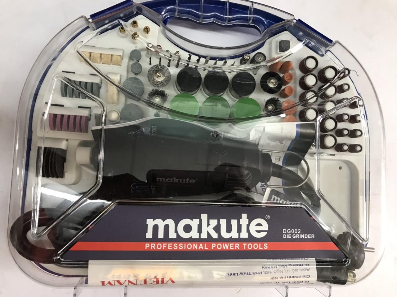 Bộ máy mài khuôn Makute Nhật Bản và 91 phụ kiện đi kèm DG002